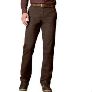 Men's Sonoma Twill Straight Fit Flat Front Pants